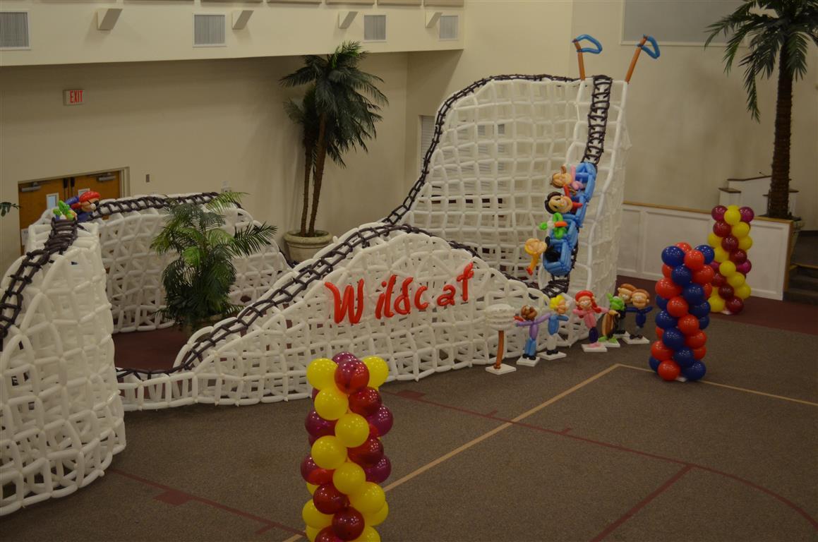 3000 Balloon Rollercoaster