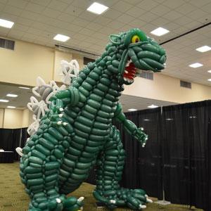 Godzilla Super Sculpture