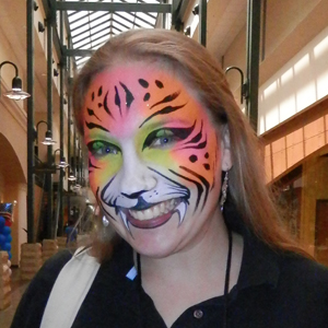 tiger naples face painter bonita fort myers